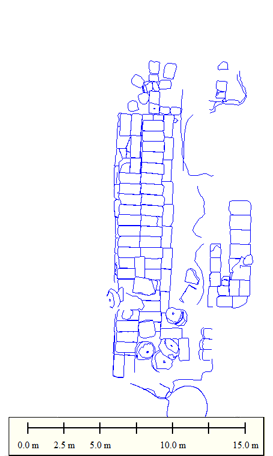 Thiva (Greece): Plan of the Temple